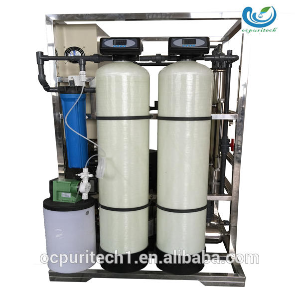 Industrial deep well river water purification reverse osmosis system
