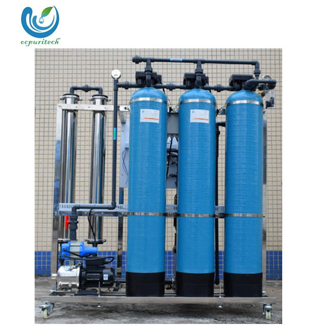 500LPH small budget drinking RO water plant factory price