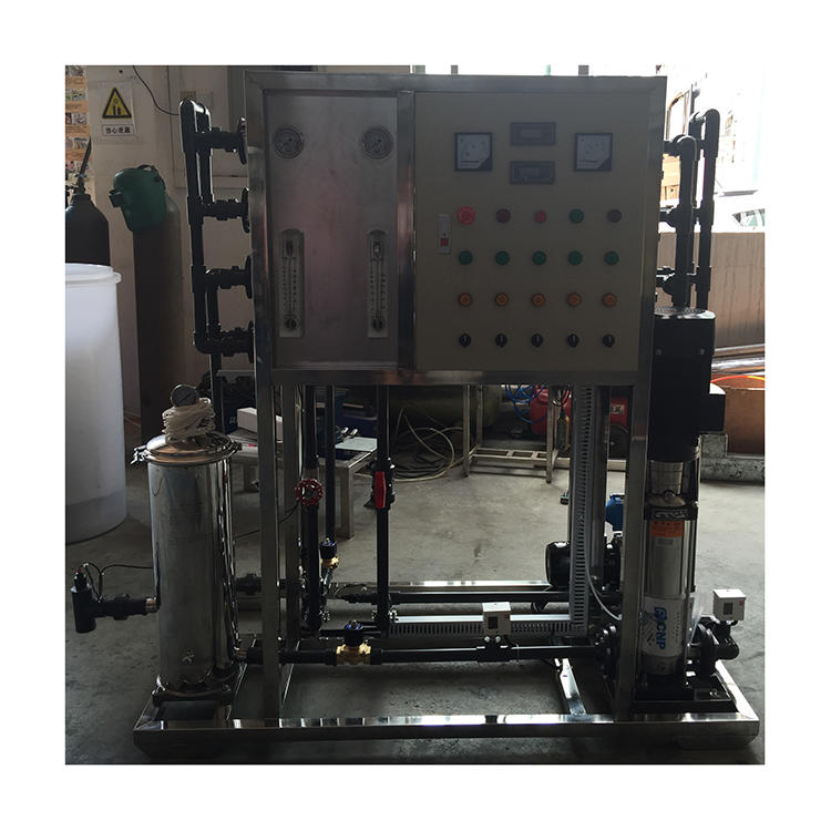 2T/H reverse osmosis machine well house water treatment