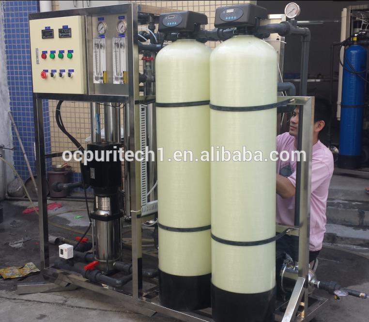 salty water purification 3000gpd ro equipment