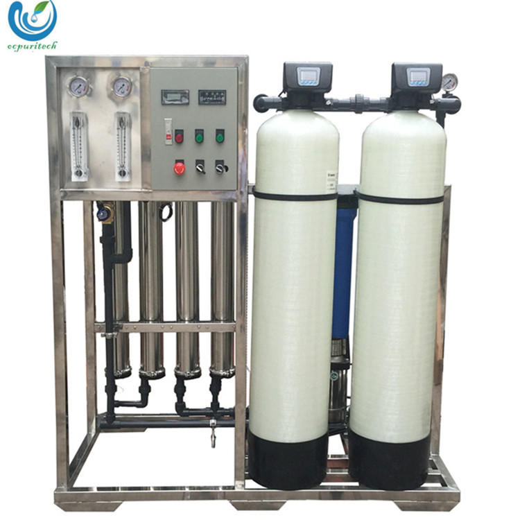 1000lph deionized water reverse osmosis machine