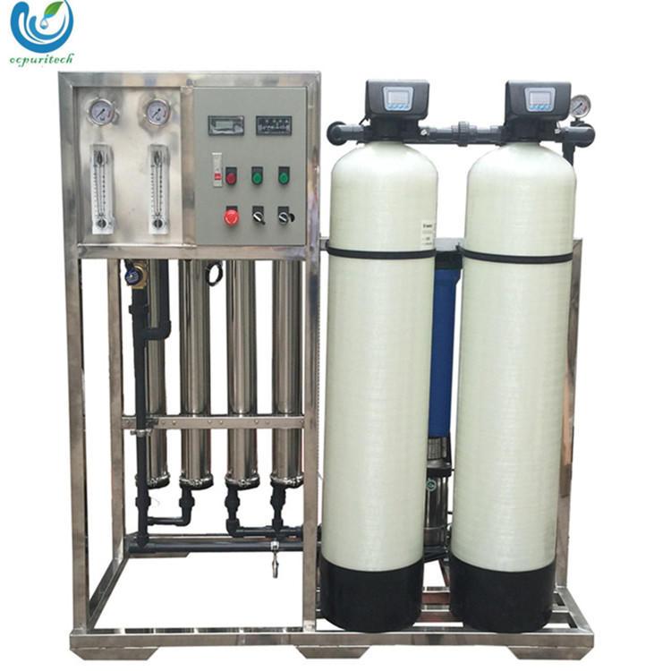 1000lph deionized water reverse osmosis machine