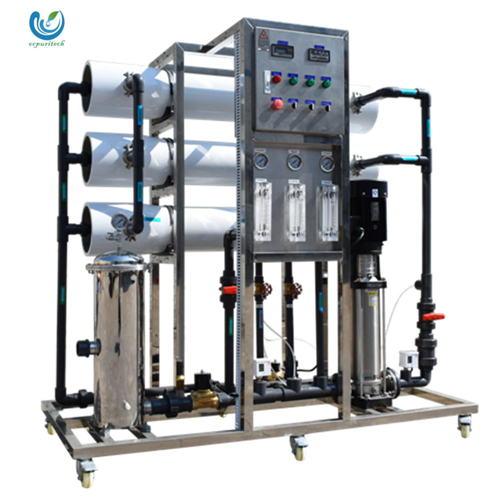 RO water treatment system 3000L/H(3T/H) with Vontron RO membrane for medical water/RO plant