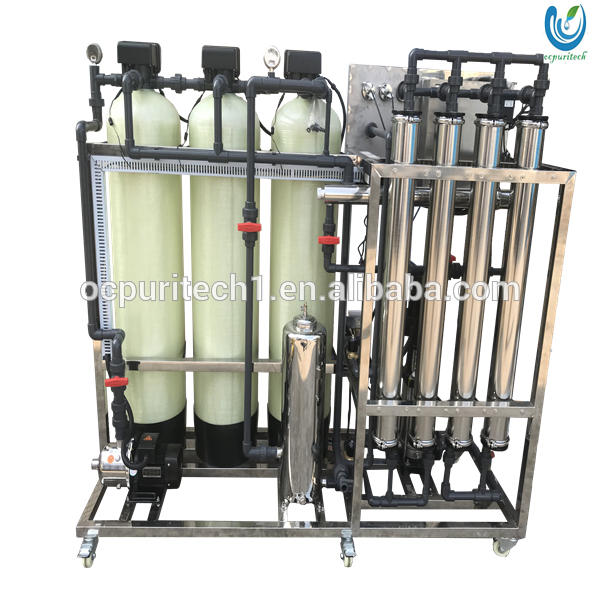 demineralized mobile water treatment plant machinery equipment cost