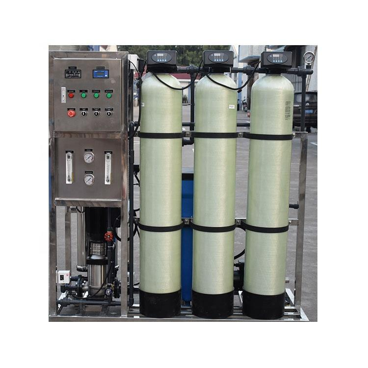 Industrial Water Treatment Of RO Water purifier for 500 Liter Per Hour