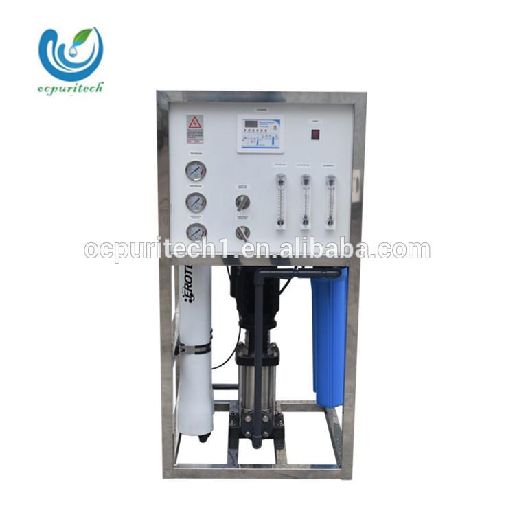 High capacity 3000GPD(500L/H) RO membrane water filter plant