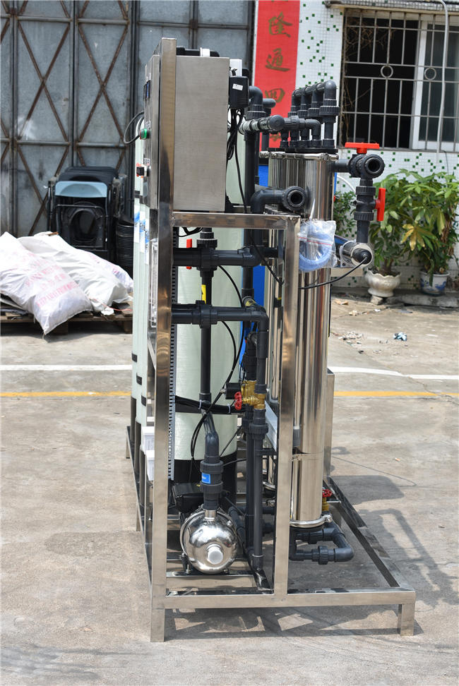 Industry 1000lph ro purifying plant reverse osmosis water treatment systems