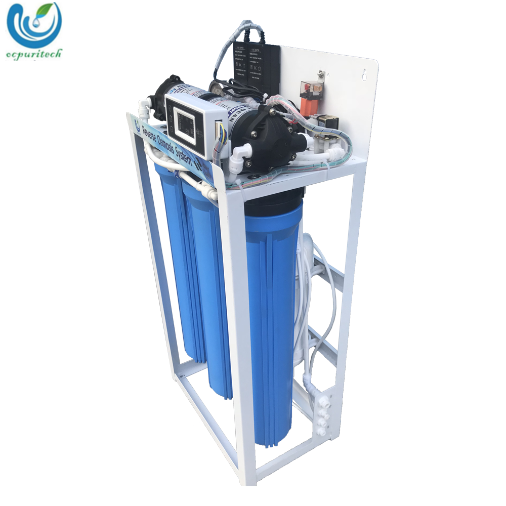 600GPD 5 stage commercial reverse osmosis water purification system with UV sterilizer