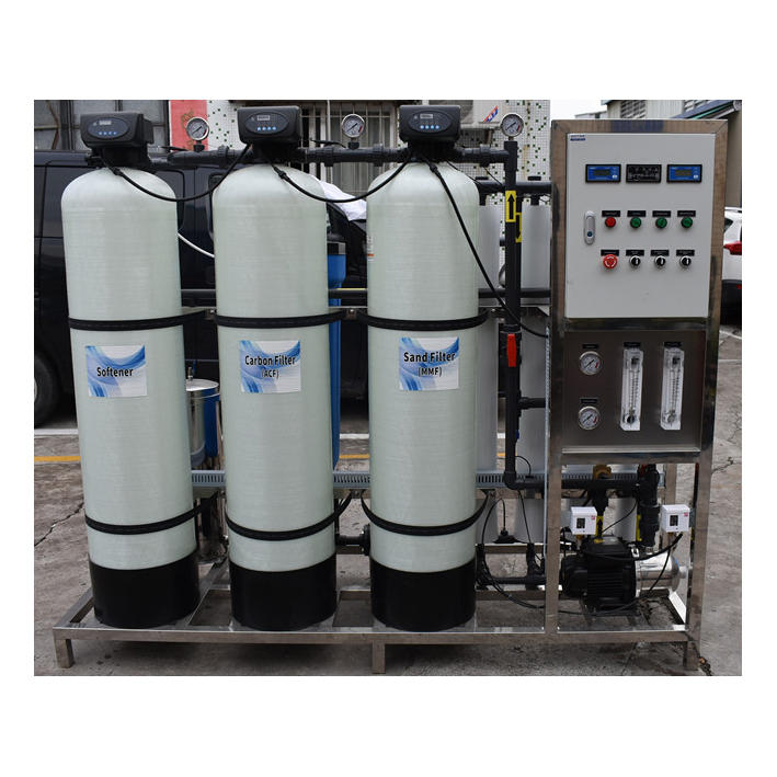 Industry Reverse osmosis 1000lph ro water plant