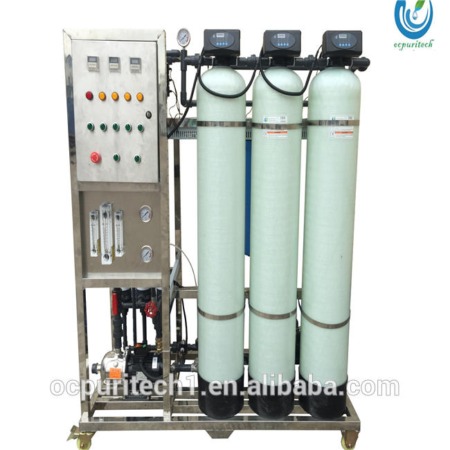 500 lph ro water purifier cabinet with ro water flow meter