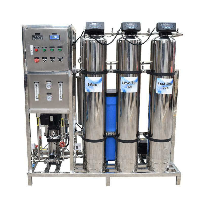 500LPH stainless steel RO reverse osmosis purifications water treatment
