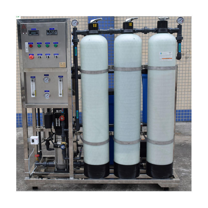 Customized 500lph industry salt water treatment machine for small water treatment plant