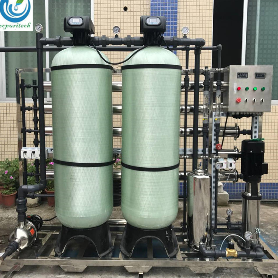 2.5m3/hr Portable Industrial RO Water Treatment Plant