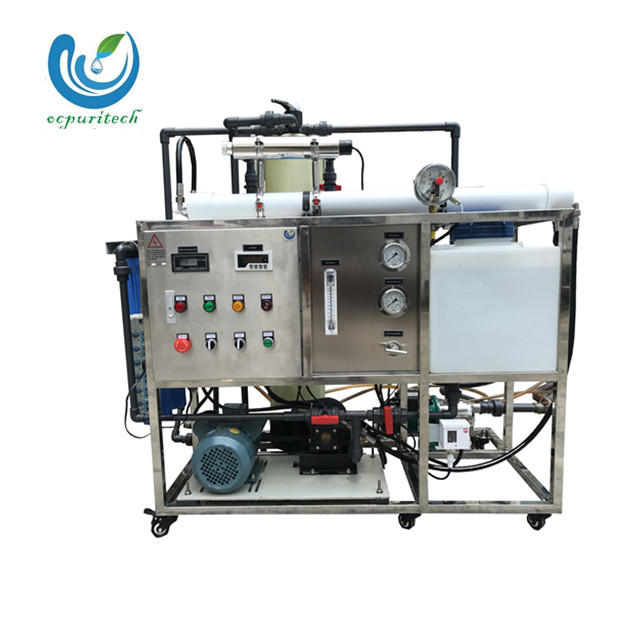 200LPH ro water plant for seawater desalination for boat
