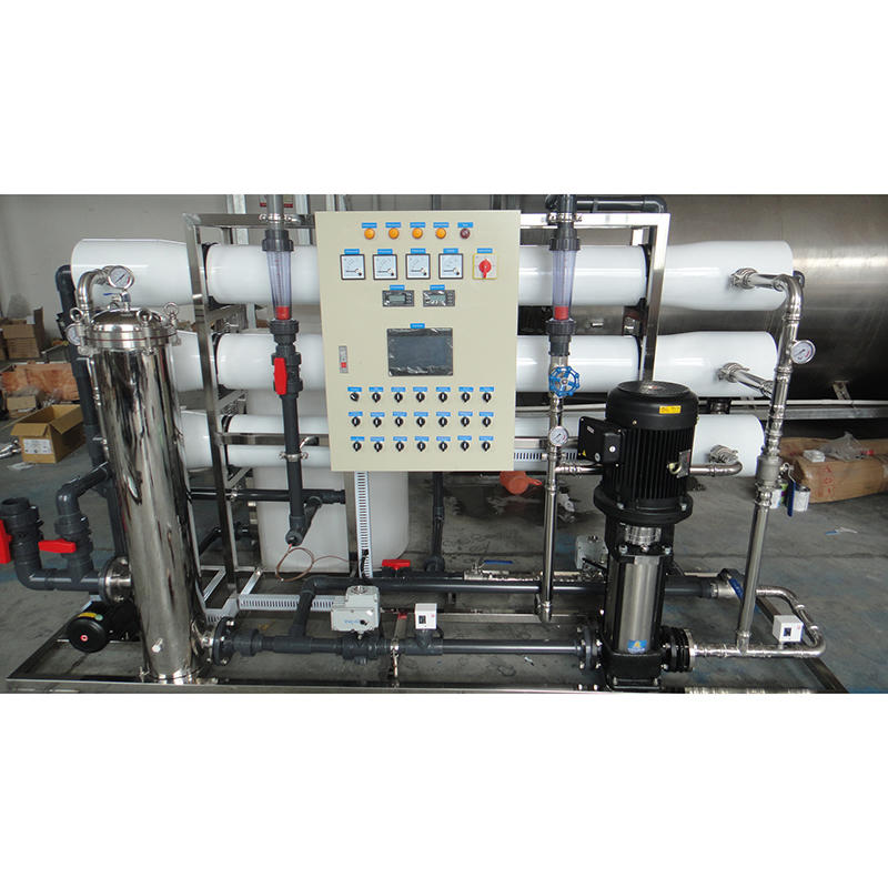 6T/H mineral drinking water treatment reverse osmosis system