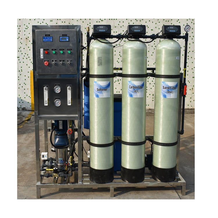 Small Industrial Automatic 500lph ro system for drinking water Reverse Osmosis Mineral