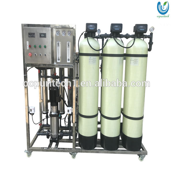 Portable sachet borehole uv led water treatment plant machine