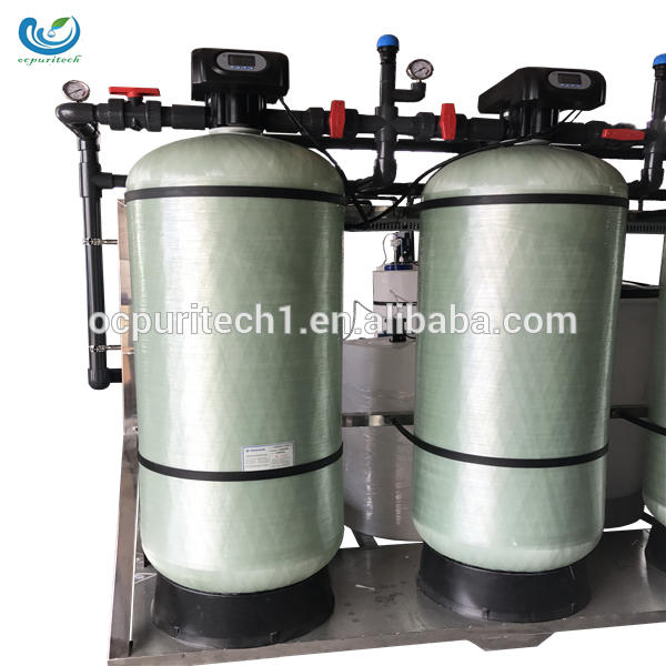 Waste salt water purification treatment pump plant machine
