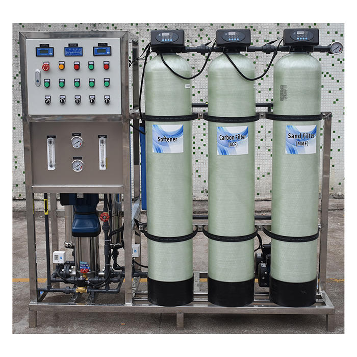 250 LPH reverse osmosis water treatment appliances