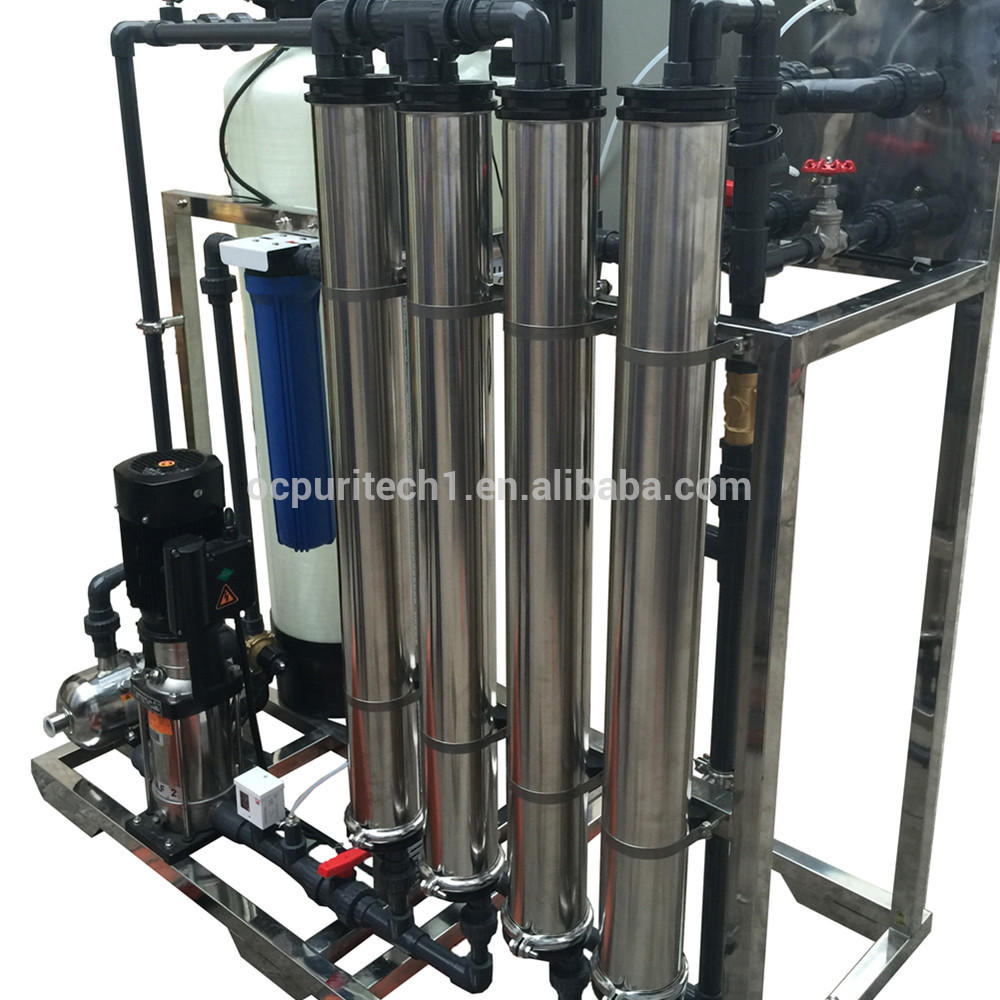 Industrial Mineral Water Plant 1000LPH Water Purifier Ro Price List