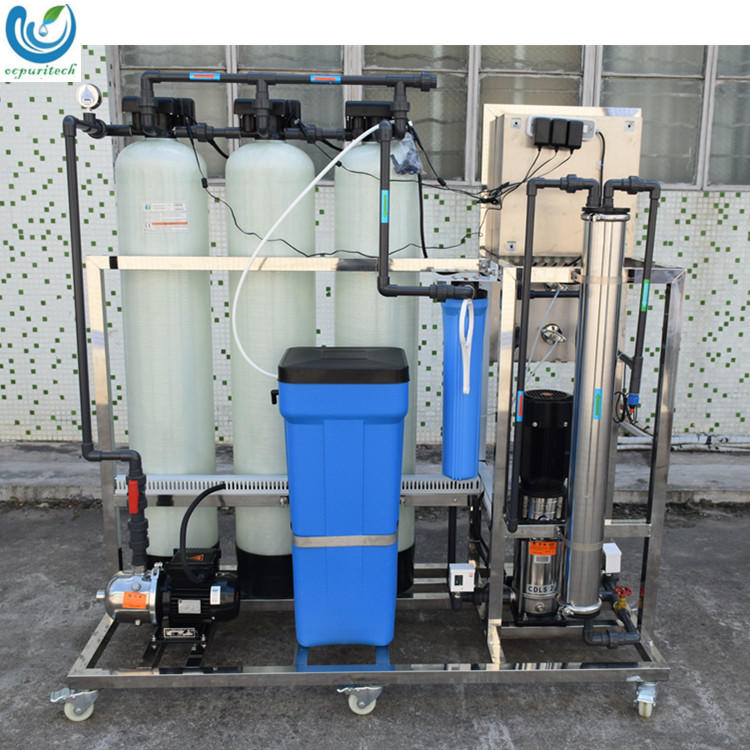 0.25TPH Moveable Mineral Drinking Water Filtration RO Reverse Osmosis Plant from China