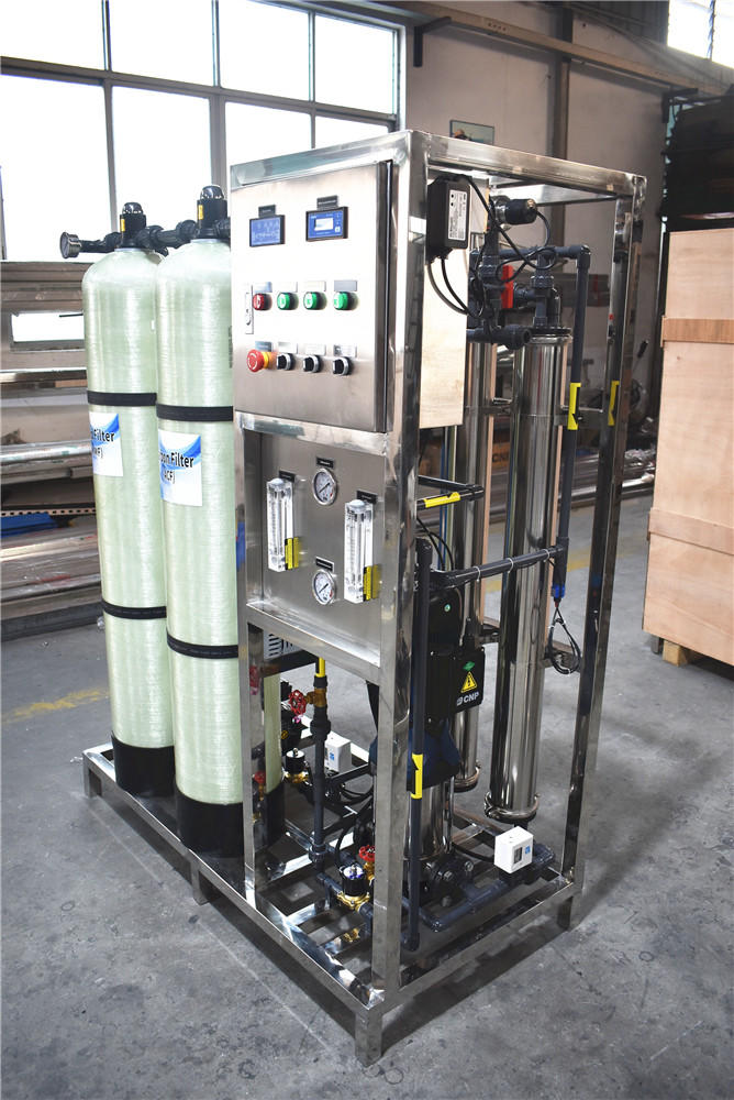 Ro pure reverse osmosis well borehole drinking water treatment plant
