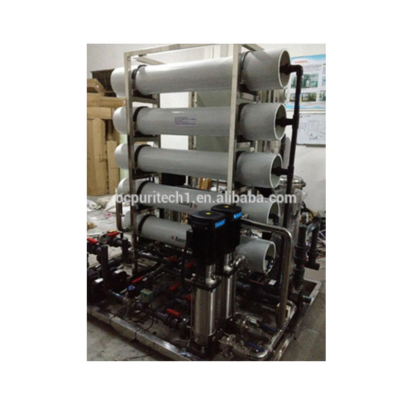 hot sale mineral water treatment machine water treatment reverse osmosis plant with UV