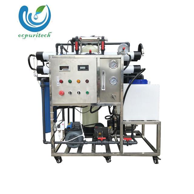 200LPH ro water plant for Seawater Desalinator Machine