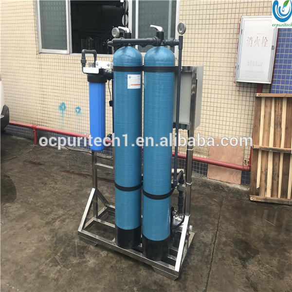 Industrial manual valves sand filter and carbon filter pretreatment