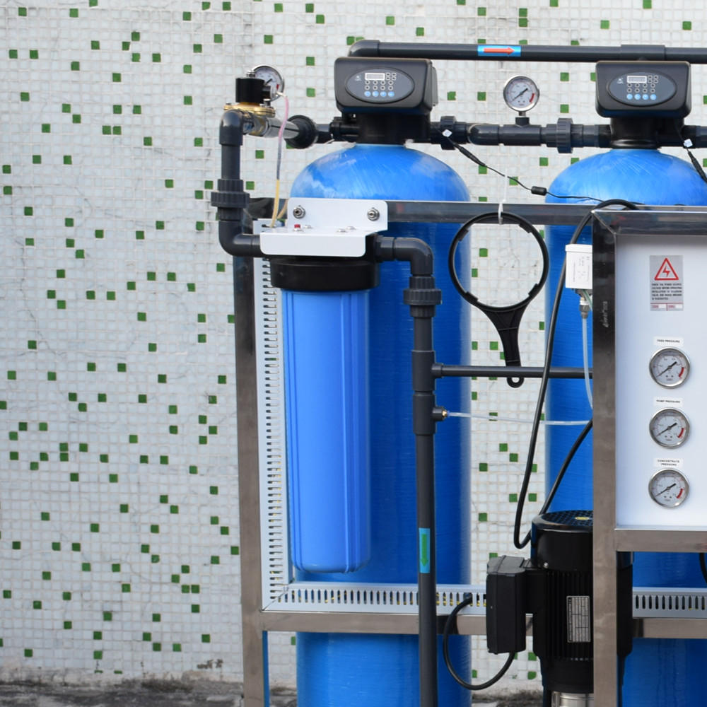 Industrial 1000l/h RO water treatment plant for water purification reverse osmosis system