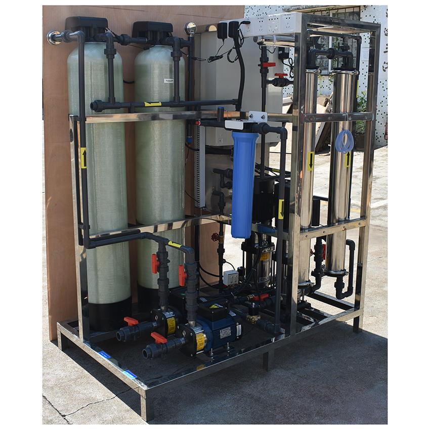 500LPH reverse osmosis water purifying machines water filtration