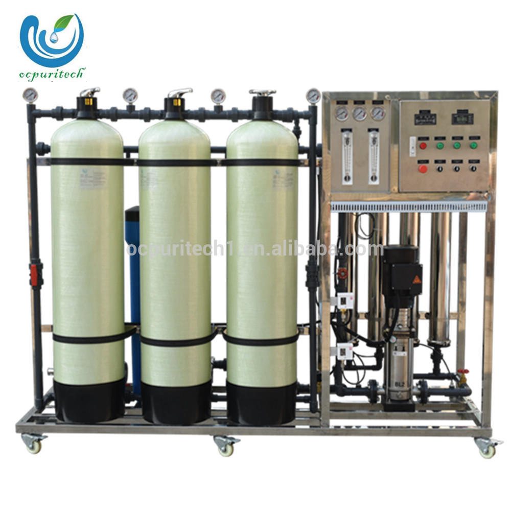 1000L/h RO filtration and water treatment equipment with sand carbon water softener