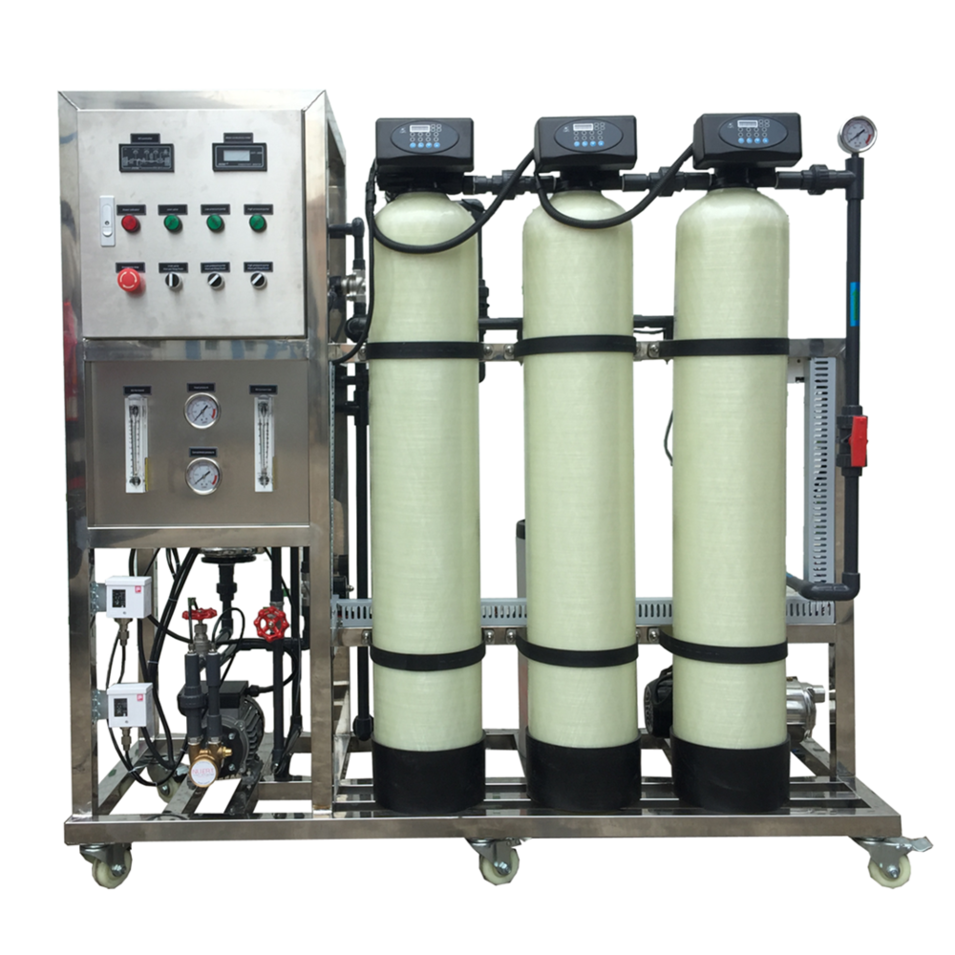 125LPH Industrial Reverse Osmosis Water Purifier Plant System Machine RO