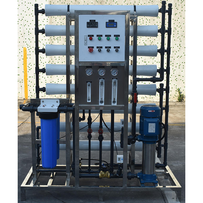 2TPH Pure Water Equipment Reverse Osmosis Treatment Plant