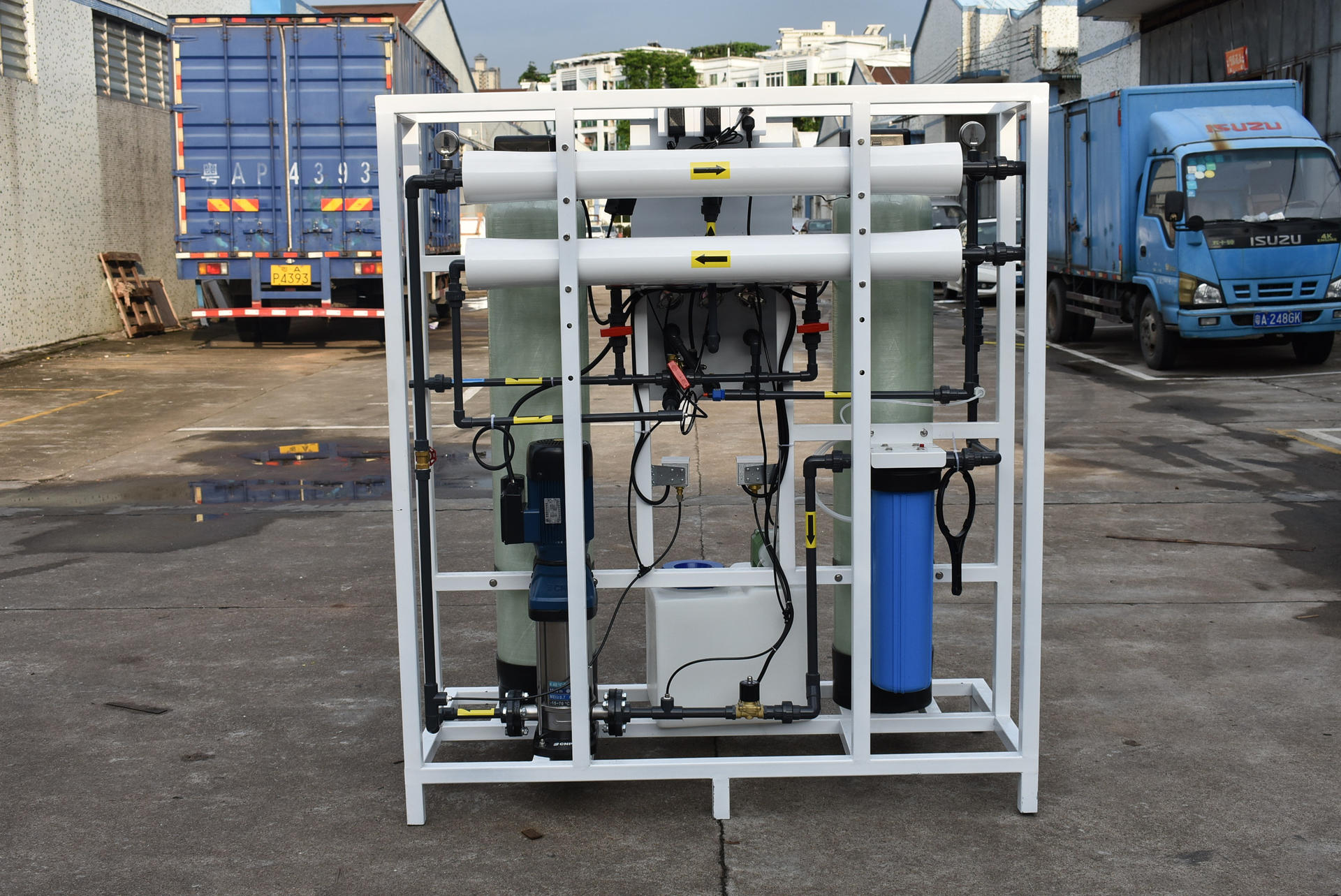 Guangzhou Drinking Water Purification Machines Industrial RO Plant 500LPH