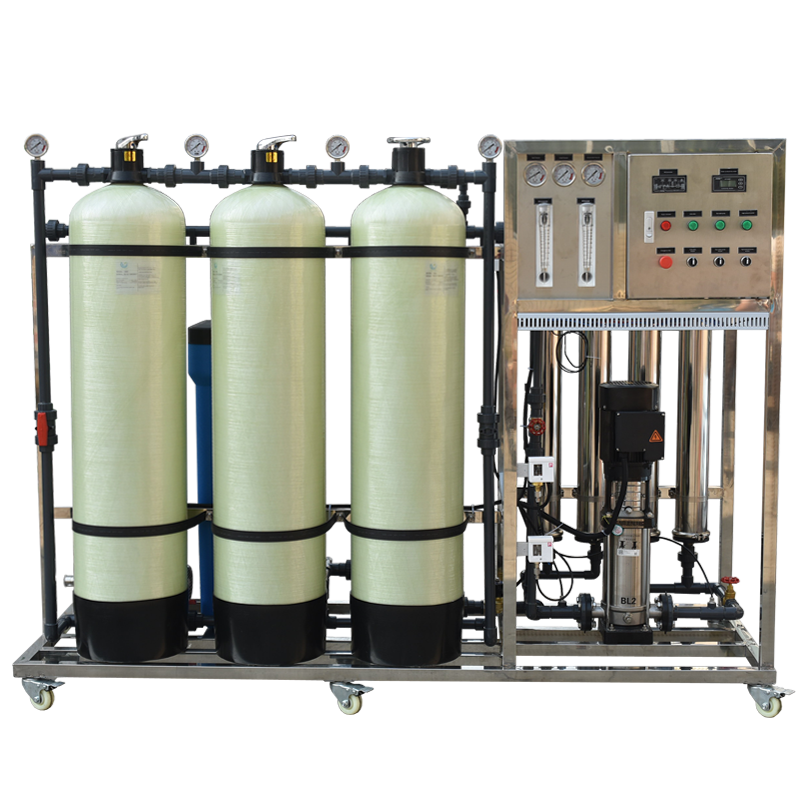 Manual 1000L/hr Hotel Drinking water purification