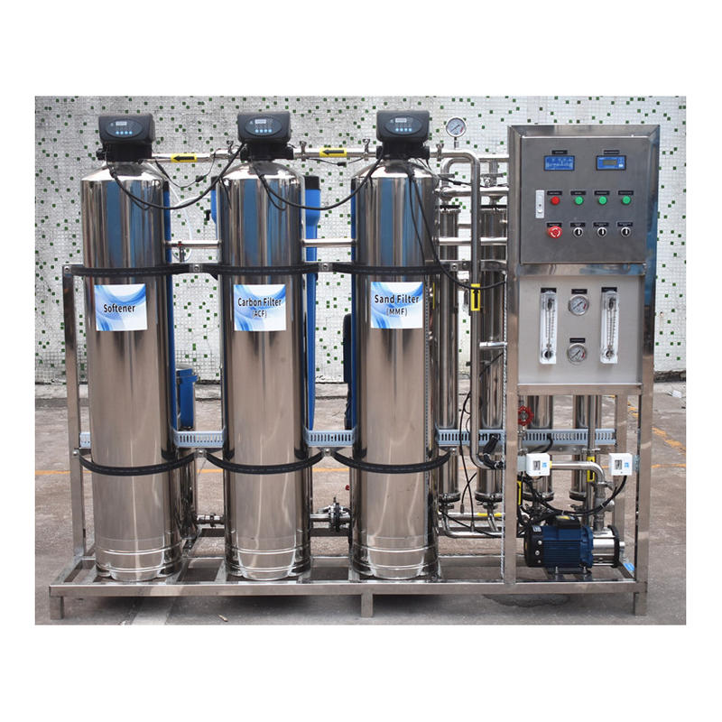 Industrial stainless steel ro water treatment plant machinery
