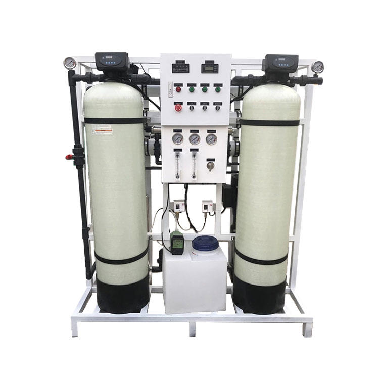 750LPH Water Purifying Machine Industrial RO Plant With Dow Membrane