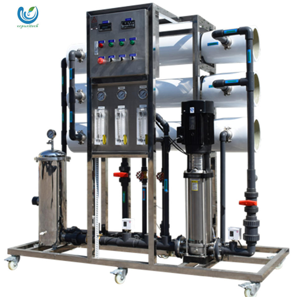 CE approval 3000 L/H RO water treatment equipment/water purifier machine for food production industry