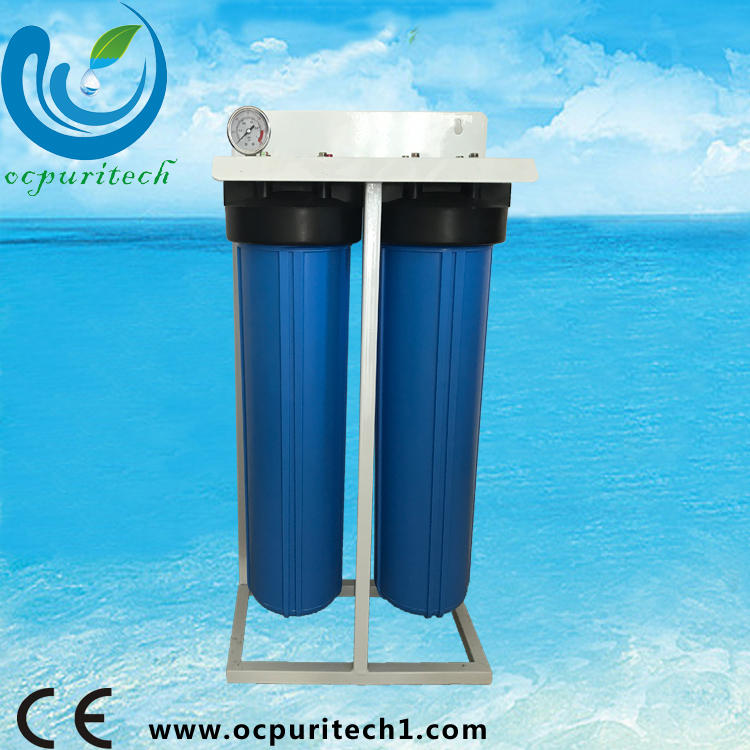 Commercisl 20 Inch fat Blue TWO stage Water Filter Purifier