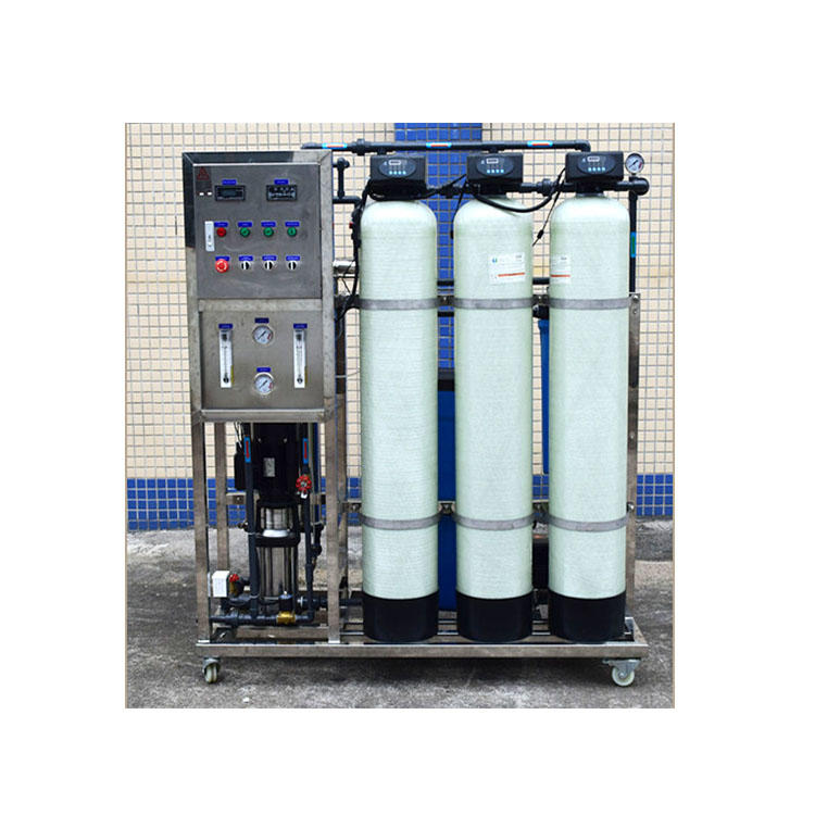 Small scale 500 litres per hour capacity reserve osmosis water treatment plant