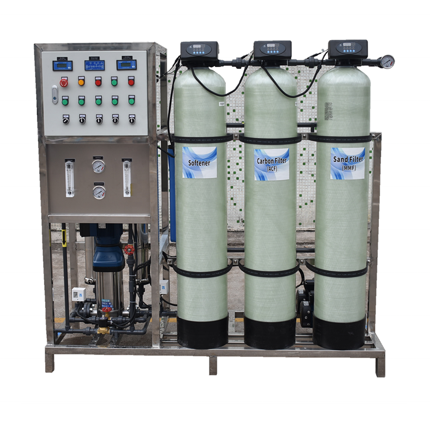 RO Drinking Purification Machines reverse osmosis 250 liter per hour