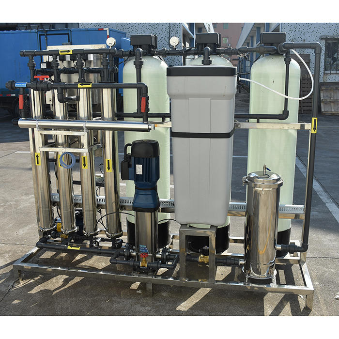 Reverse osmosis water treatment ro water plant price for 1000 liter per hour