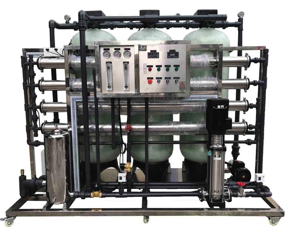 2000LPH Portable Industrial Reverse Osmosis Water Purifier Plant