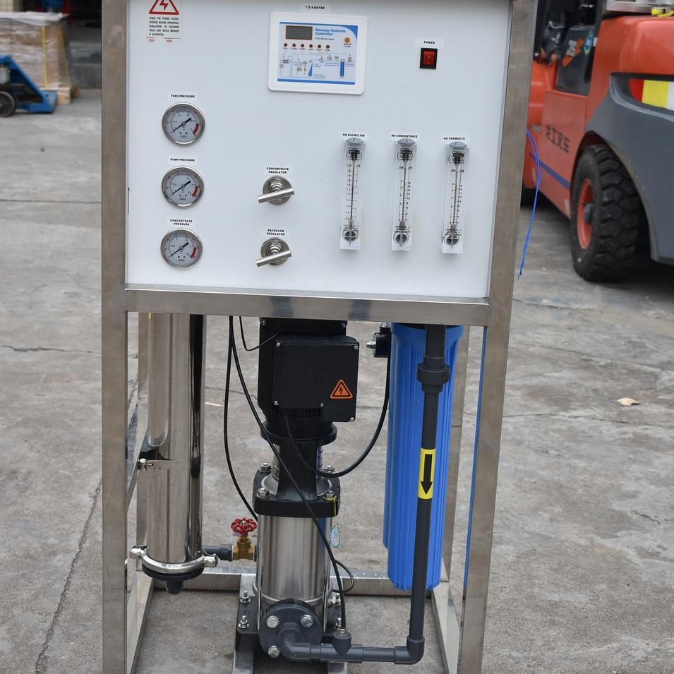 Industrial host 250 Liter Per Hour RO main Water Treatment Mini Small Water Plant
