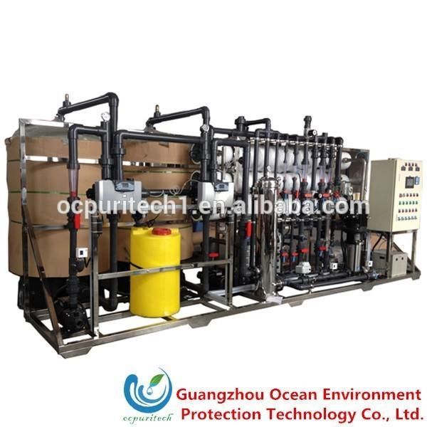 12T/H RO+EDI Water Treatment plant
