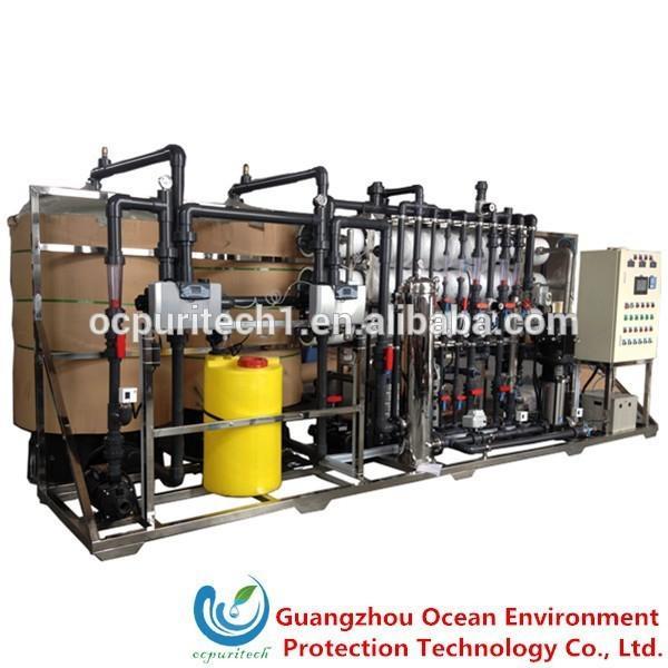 12T/H RO+EDI Water Treatment plant