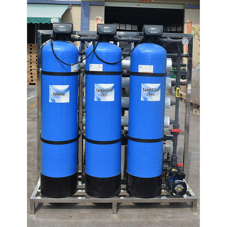 Industry Reverse osmosis ro treatment purifying well water filter system