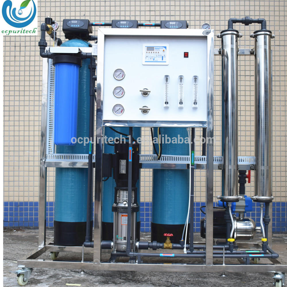 Industrial high water recovery 500LPH RO water system plant price for india