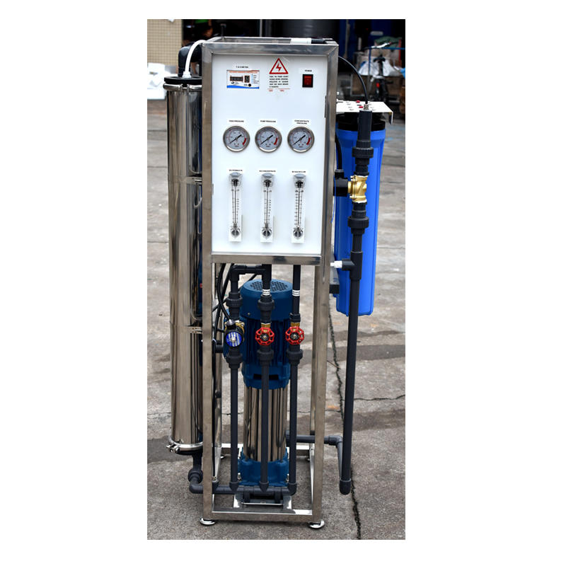 Hot Sale 250 LPH Filter Drinking Water Treatment Mini Small RO Plant